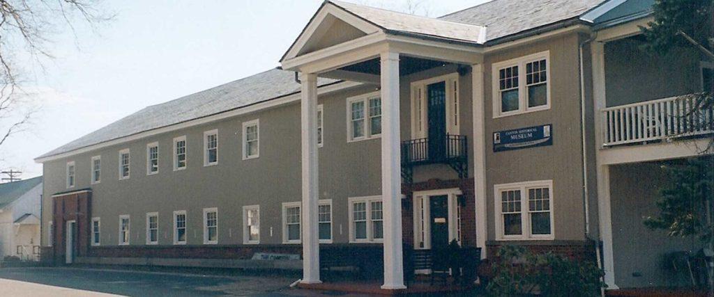 Canton Historical Museum front door