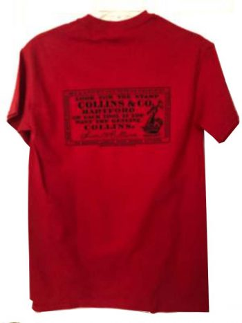 back of red Tshirt