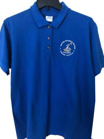 Polo shirt with Collins Legitimus logo