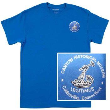 tshirt, royal blue
