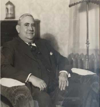 Museum founder, Fred Widen.